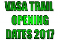 2017 Trail Opening Dates